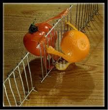 orange and tomato