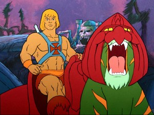 He-man, The Most Powerful Man in the Universe