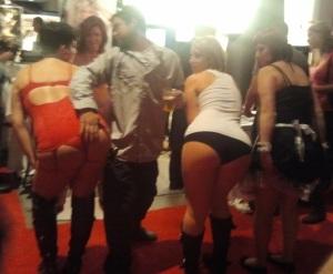 Attendee Grabbing Ass