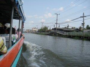 muddy thailand river