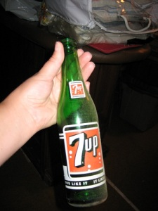 7 Up Pop Bottle