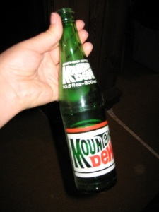 Mountain Dew Pop Bottle