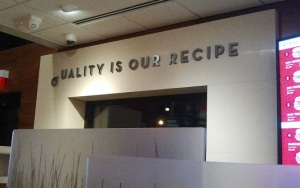 Quality is our Recipe FAIL