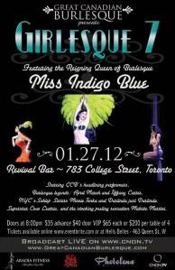 Girlesque Burlesque Jan 27 2012
