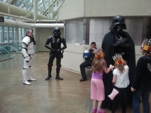 Darth and Friends
