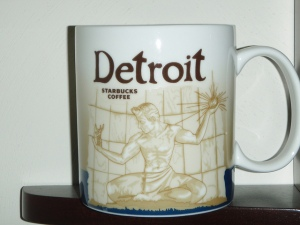 detroit starbucks mug