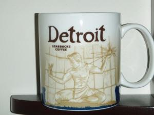 detroit starbucks mug