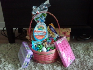 Too Much Candy in My Easter Basket