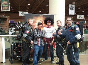 Ghost Busters with Captain Awesome