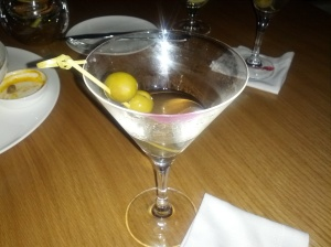 extra dirty martini