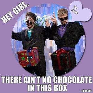 dick in a box valentine