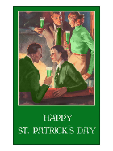 happy-st-patricks-day-couples-drinking-green-beer
