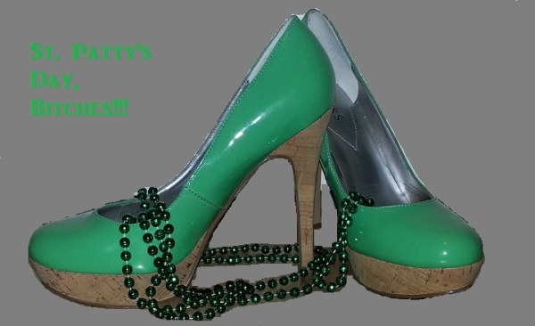 st pattys day shoes