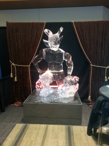 ice sculpture demon
