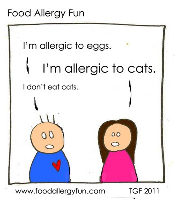 food allergy comic